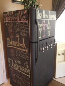 Microbrew Refrigerator in Anthem Parkside